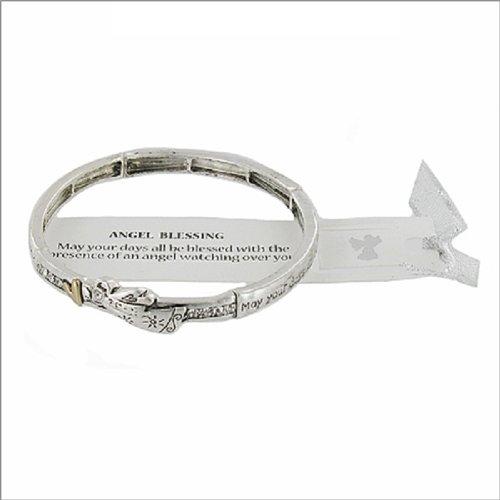 JOA Angel Blessing Theme Stretch Bracelet #039418