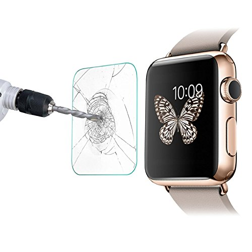 Weston Jewelers Premium Glass Film 0.2mm Tempered Glass Screen Protector for Apple Sports Watch (38mm) (Weston Screen compare prices)