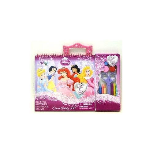 Tara Toys Disney Princess Travel activity Pad Arts & Crafts