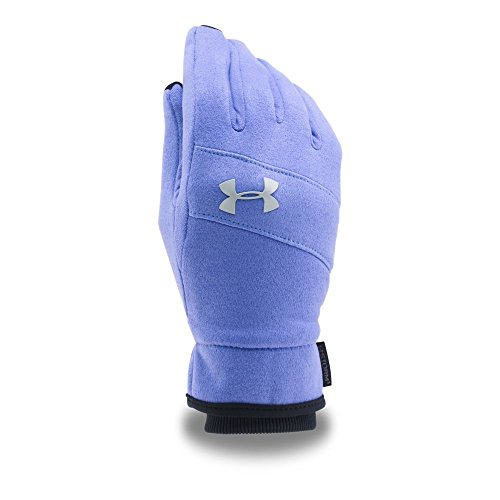 Under Armour Unisex Elements Glove (Youth) Violet Storm/Silver Snowboarding Gloves LG