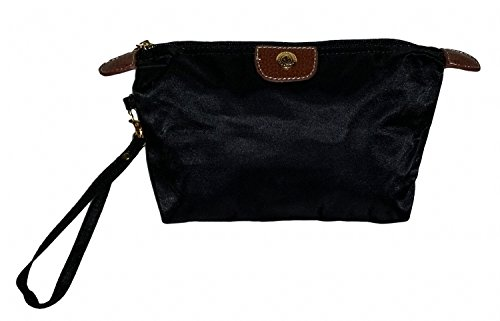 High Fashion Nylon Wristlet Wallet Pouch with Wristlet Strap