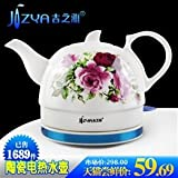 Jusco Ya TC208 red roses ceramic electric kettle Automatic power burn the kettle effort teapot green pot