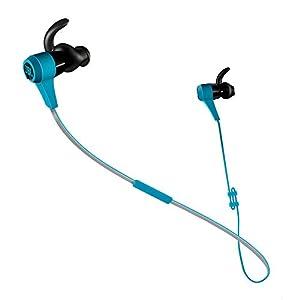 JBL REFLECT BT In-Ear Bluetooth Sportkopfhörer mit 3-Knopf Fernbedienung und Mikrofon blau