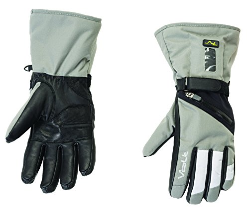 Volt Heated Snow Gloves, Grey, Large