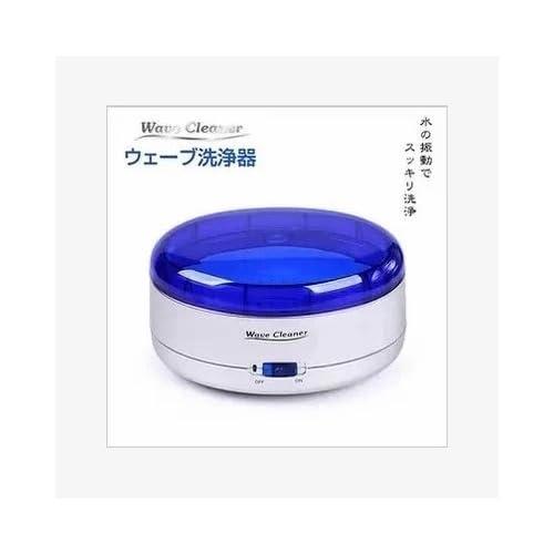 ウエーブ洗浄器 水の振動でスッキリ洗浄 どこでも使える 2way 電源 電池 USB