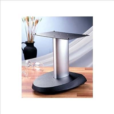 Black Base,Black Pole VTI VSPC - VSPC Series Center Speaker Stand
