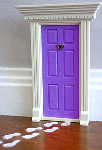 39 lil fairy door purple magical starter pack includes for Lil fairy door sale