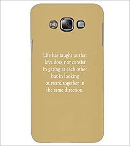 Printdhaba Quote D-3952 Back Case Cover For Samsung Galaxy A8