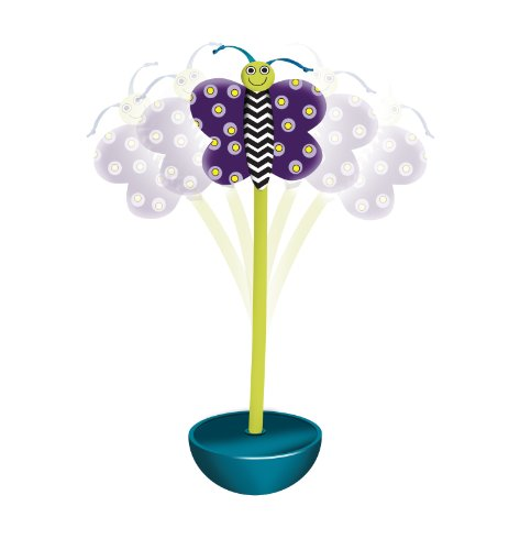 Detail image Petstages Quiet Glow Moth Glow-in-the-Dark Cat Night time Toy