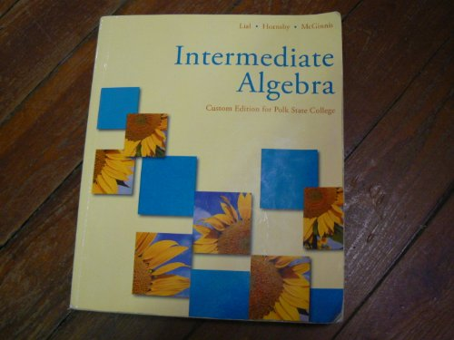 Intermediate Algebra Custom Edition for Polk State College