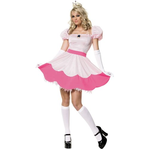 Pink Princess Costume - Small - Dress Size 4-6