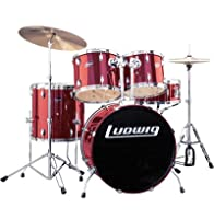 Ludwig Combo Drum Kit - Wine Red from Ludwig