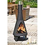 La Hacienda Extra Large Colorado 160cm Chiminea Chimenea Chimnea Outside Fireplace by NA