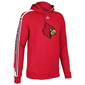NCAA Louisville Cardinals Sideline Swagger Performance Hoodie - Cardinal by adidas