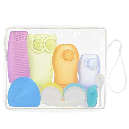 iegeek-kit-de-accesorios-de-silicona-de-bano-de-cuidado-y-limpieza-de-viaje-al-aire-libre-diez-pieza