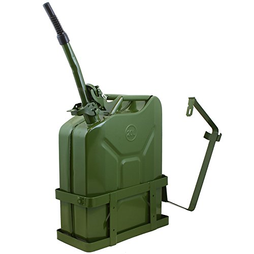 5 Gallons Jerry Can With Holder Gas Tank (Jeep Jerry Can Holder compare prices)