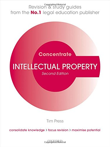 Intellectual Property Law Concentrate: Law Revision and Study Guide