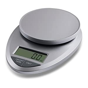 EatSmart™ Precision Pro - Multifunction Digital Kitchen Scale w/ Extra Large LCD and 11 Lb. Capacity