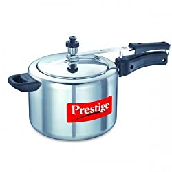 Prestige Nakshatra Plus Induction Base Aluminium Pressure Cooker, 3 Litres