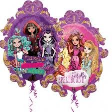 Ever After High Super Shape 2 - Side XL Xtralife Foil Balloon Size: - 25 inches x 31 inches (63 cm x 78 cm) approx