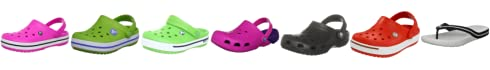 Crocs Kids Crocband Mules And Clogs Sandal