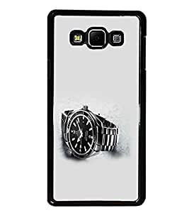 PrintDhaba Watch D-2021 Back Case Cover for SAMSUNG GALAXY A7 (Multi-Coloured)
