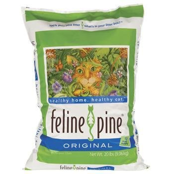 Feline Pine  Original Cat Litter, 20-Pound Bag