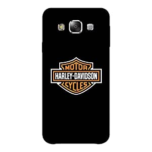 Abhivyakti Car&Bikes Harley Davidson Cycles Hard Back Case Cover For Samsung E7