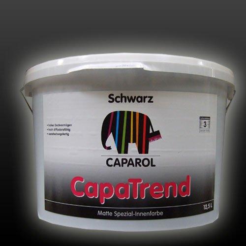 caparol capatrend schwarz 12 5 liter schwarz spar baumarkt. Black Bedroom Furniture Sets. Home Design Ideas
