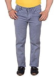 Makeover slim fit grey men's jeans