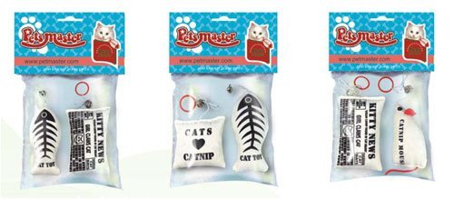 Conch 89722 Catnip Toy Assorted - Case of 12