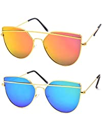 cheap womens sunglasses online  Sunglasses: Buy Sunglasses Online at Low Prices in India - Amazon.in