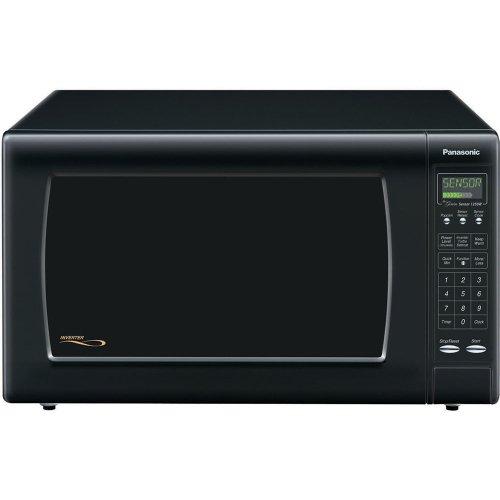 Read About Panasonic NN-H965BF Genius 2.2 cuft 1250 Watt Sensor Microwave w/Inverter Technology,Blac...