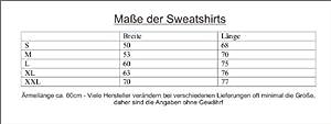 Freiburg mit Leib und Seele; Städte Sweatshirt schwarz, Gr. XXL