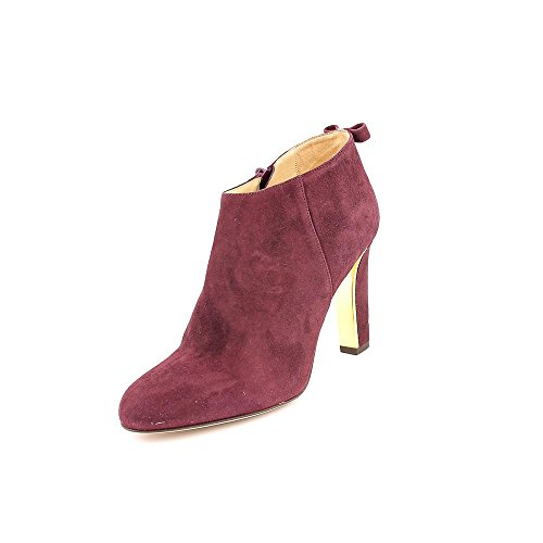 Kate Spade Netta Womens Size 9.5 Burgundy Suede Booties Shoes