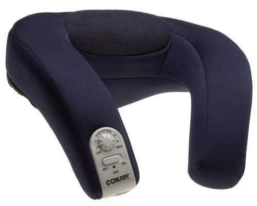Conair Body Benefits Battery A/C Massaging Neck Rest with Heat (Conair Back And Neck Massager compare prices)
