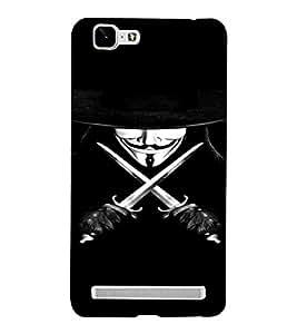 PrintVisa Vendetta Design 3D Hard Polycarbonate Designer Back Case Cover for VivoX5MAX