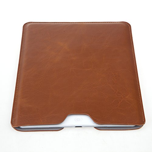 Bear Motion 9.7-inch iPad Pro & iPad Air Sleeve Case - Premium Slim Sleeve Case Cover for iPad Air, iPad Air 2 & 9.7-inch iPad Pro (Without any other case on) - Brown (Ipad 2 Sleeve compare prices)