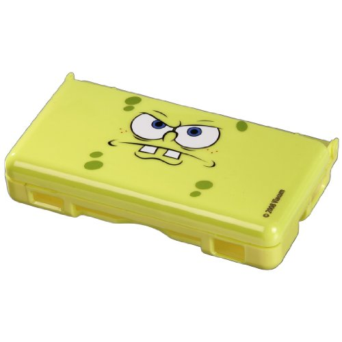 J-Straps Crystal Case Spongebob Face f&#252;r Nintendo DS Lite, Nintendo DS