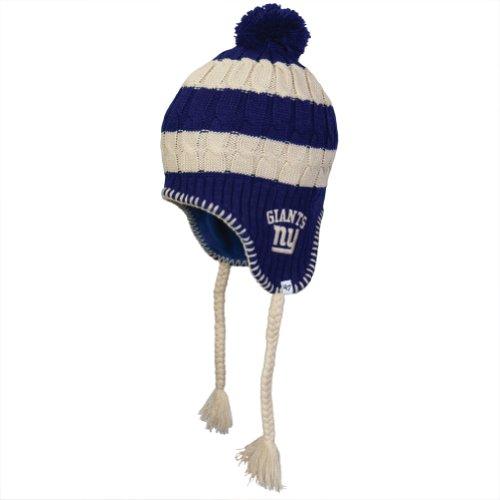 Nfl New York Giants Women'S Sherpette Knit Cap, Royal front-973175