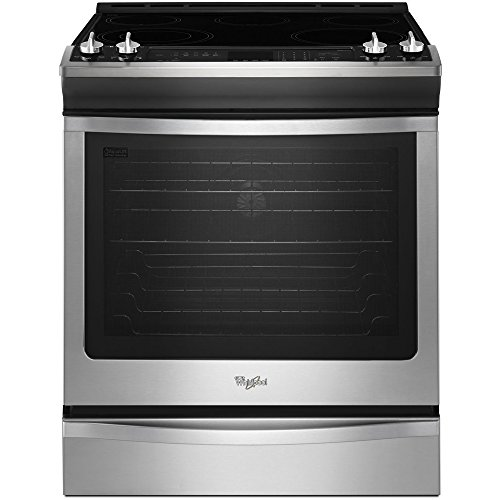 Whirlpool WEE730H0DS WEE730H0DS Electric 6.2 cu.ft. Stainless Slide-in Range (Whirlpool Self Cleaning Oven compare prices)