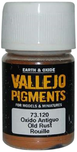 Vallejo Earth and Oxide Pigments, Old Rust