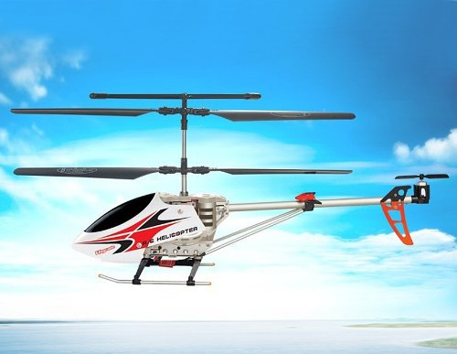 SongYang 8088-35 3 Channels RC Helicopter with Gyroscope (Red)