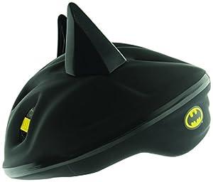 Batman Boy's 3D Bat Safety Helmet - Black, 53 - 56 cm