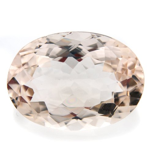 Natural Africa Champagne Topaz Loose Gemstone Oval Cut 16*11mm 9.25cts