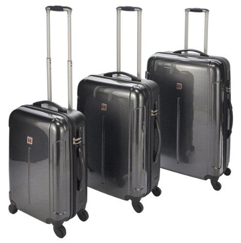 Trolley-Koffer Set 3tlg aus ABS und Polykarbonat