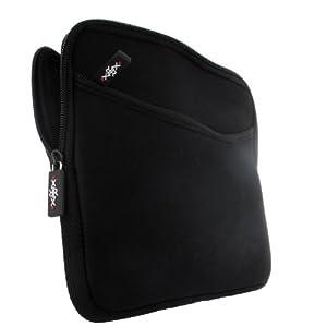 sumo:mobile Neopren Netbook Tasche mit Fach in schwarz für Samsung Serie 5 530U3B
