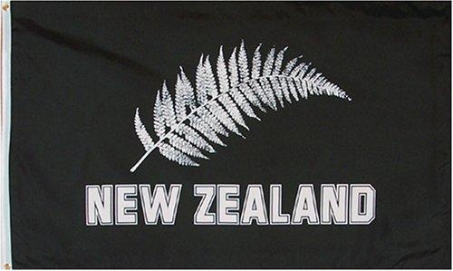 3x5 foot New Zealand Football Silver Ferns Flag