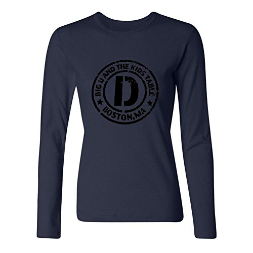 DESBH Women's Big Ang Long Sleeve T Shirt Royal Blue (Dean Graziano compare prices)