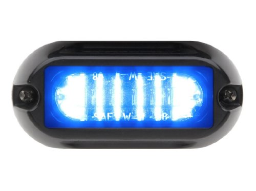 Whelen Engineering Linz6 Super-Led Lighthead - Blue/Blue